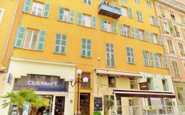 Отель Carré d'or - Le Suède Франция, Ницца - отзывы, цены и фото номеров - забронировать отель Carré d'or - Le Suède онлайн вид на фасад