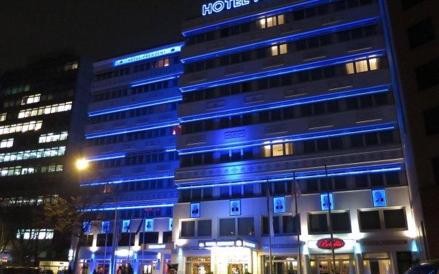 Best Western Hotel President вид на фасад
