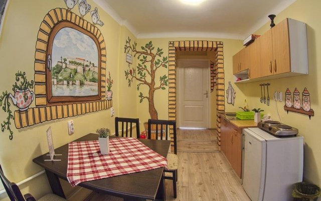 City Hostel Нови Сад комната для гостей