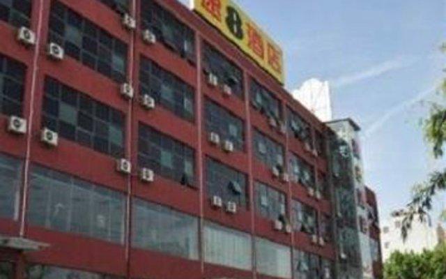 Super 8 Hotel Xian Baqiao Hua Dong Steel Trade City вид на фасад