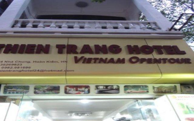 Thien Trang Hotel вид на фасад