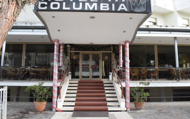 Hotel Columbia вид на фасад