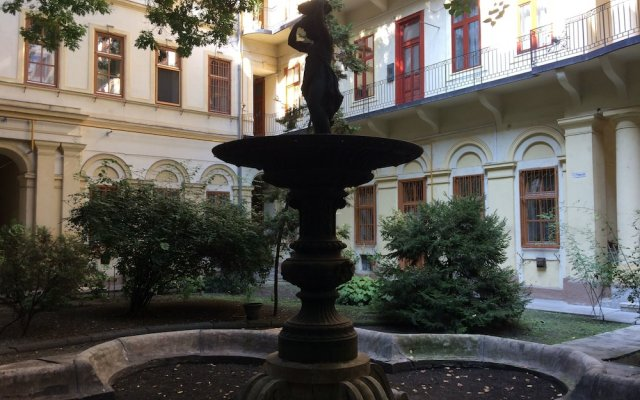 Апартаменты Liszt Studios Apartment Будапешт вид на фасад
