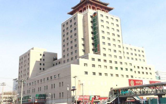 Greentree Alliance Beijing West Railway Station Zhanqian North Square Hotel вид на фасад