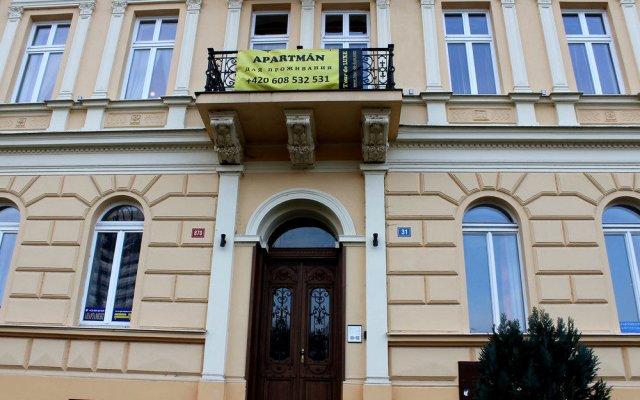 Отель Zahradni apartments Чехия, Карловы Вары - отзывы, цены и фото номеров - забронировать отель Zahradni apartments онлайн вид на фасад