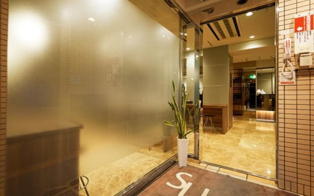Super Hotel Hakata Хаката вид на фасад