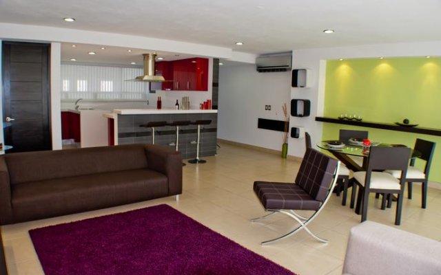 Апартаменты Apartment for 5 people in Acapulco Tradicional комната для гостей