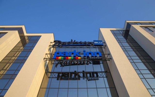 Отель Radisson Blu Alna Осло вид на фасад