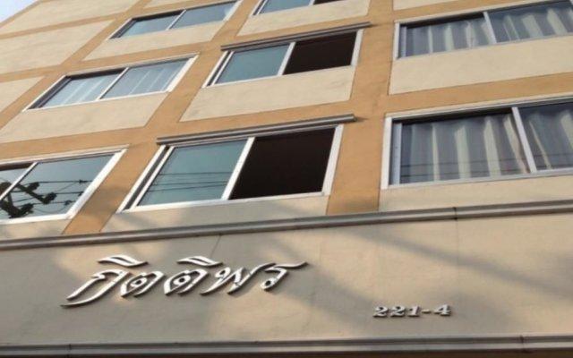 Отель Kittiporn Apartment Таиланд, Бангкок - отзывы, цены и фото номеров - забронировать отель Kittiporn Apartment онлайн вид на фасад