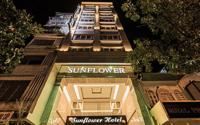 Sun Flower Luxury Hotel вид на фасад