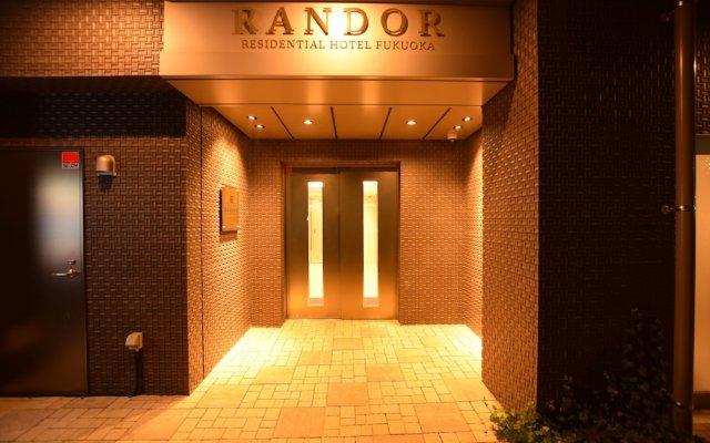 Randor Residential Hotel Fukuoka Фукуока вид на фасад