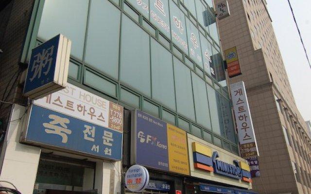 Отель Guesthouse Myeongdong Южная Корея, Сеул - отзывы, цены и фото номеров - забронировать отель Guesthouse Myeongdong онлайн вид на фасад