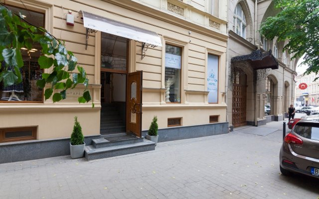 Family Residence Boutique Hotel вид на фасад