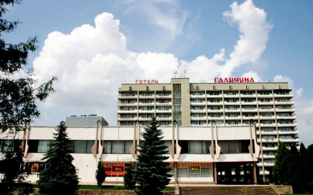 Гостиница Галичина вид на фасад
