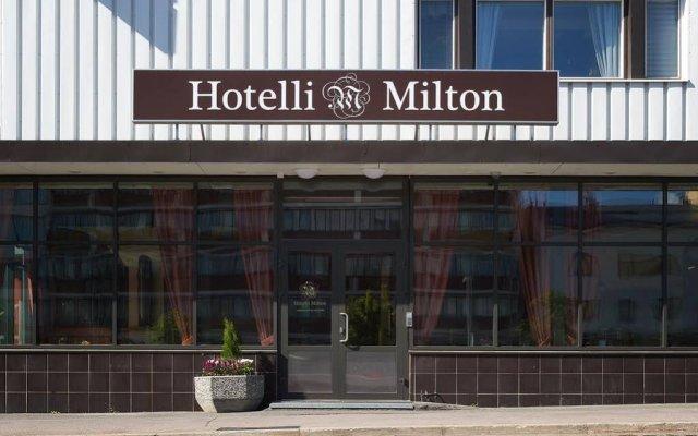 Hotel Milton Ювяскюля вид на фасад