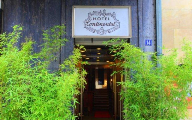 Отель Continental Германия, Нюрнберг - 1 отзыв об отеле, цены и фото номеров - забронировать отель Continental онлайн вид на фасад