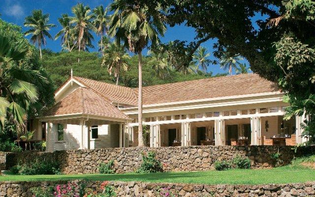 Отель Laucala Island вид на фасад