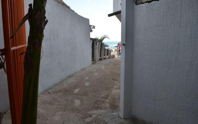 Отель B & B Popol Vuh Плая-дель-Кармен вид на фасад