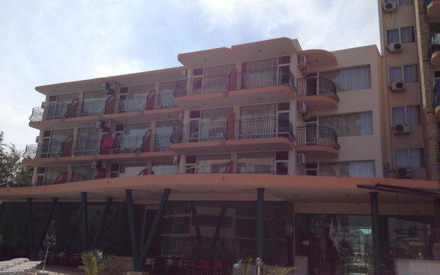 Hotel Arda Солнечный берег вид на фасад