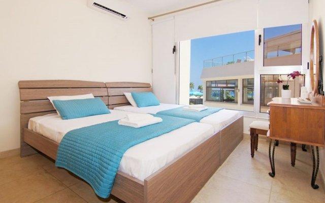 Отель Bay View Apartment Кипр, Протарас - отзывы, цены и фото номеров - забронировать отель Bay View Apartment онлайн вид на фасад