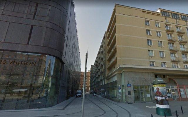 Апартаменты P&O Apartments Galeria Bracka Варшава вид на фасад