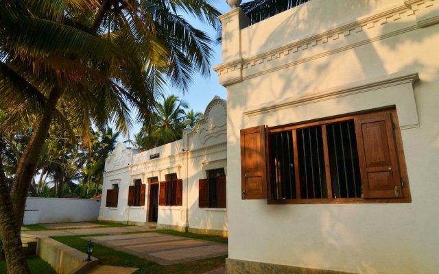 Отель Villa Samudrawasa Шри-Ланка, Галле - отзывы, цены и фото номеров - забронировать отель Villa Samudrawasa онлайн вид на фасад