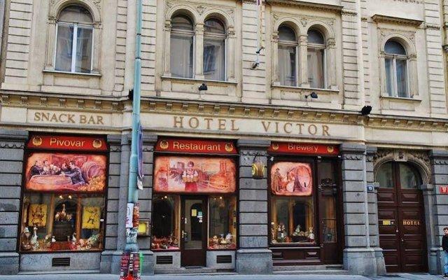 Hotel Victor вид на фасад