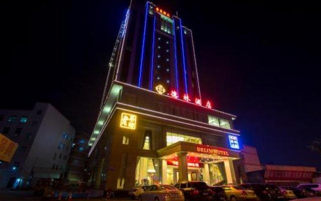 Delin Hotel Шэньчжэнь вид на фасад
