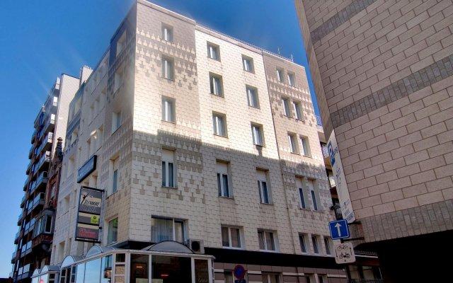 Отель Glenmore Бельгия, Остенде - отзывы, цены и фото номеров - забронировать отель Glenmore онлайн вид на фасад
