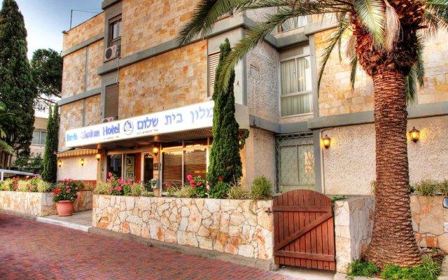 Отель Beth-shalom Хайфа вид на фасад