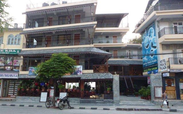 Отель Peace Plaza Непал, Покхара - отзывы, цены и фото номеров - забронировать отель Peace Plaza онлайн вид на фасад