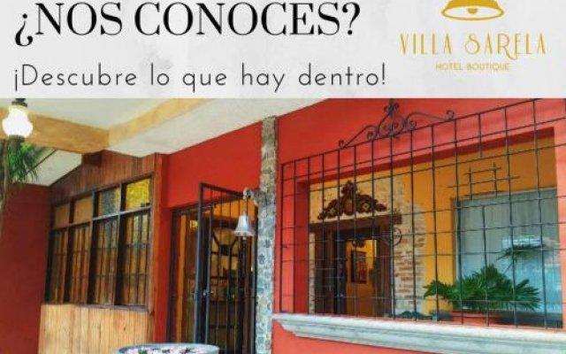Hotel Villa Sarela вид на фасад