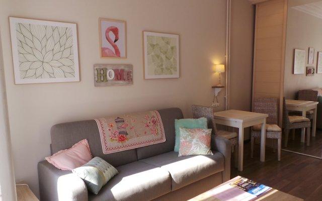 Апартаменты Sunny Studio Ницца комната для гостей