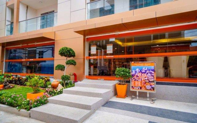 Отель C-View Residence Паттайя вид на фасад