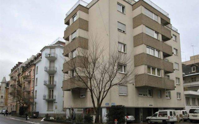 Отель Swiss Star Wiedikon вид на фасад