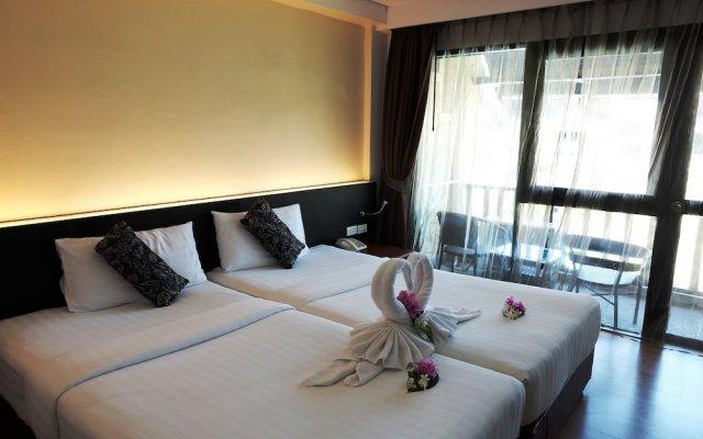 Отель Splendid Resort at Jomtien вид на фасад