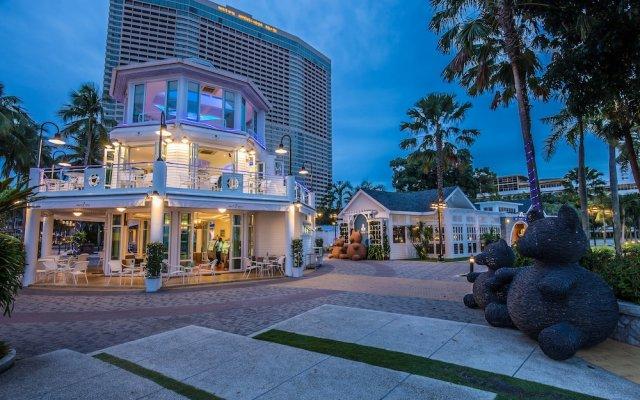 Отель Ambassador City Jomtien Pattaya - Ocean Wing вид на фасад