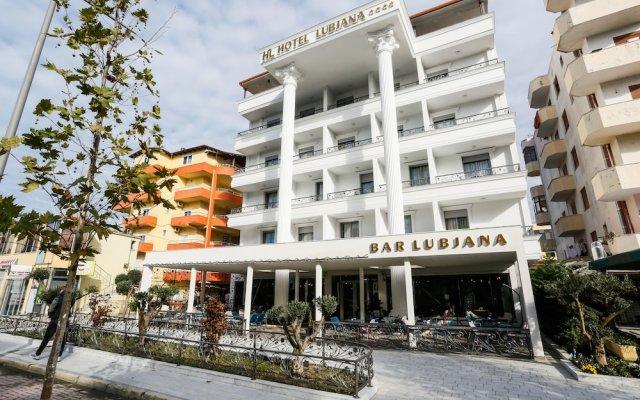 Отель Lubjana Албания, Дуррес - отзывы, цены и фото номеров - забронировать отель Lubjana онлайн вид на фасад
