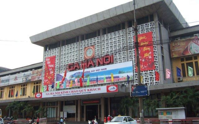 My Hotel Universal Hanoi Ханой вид на фасад