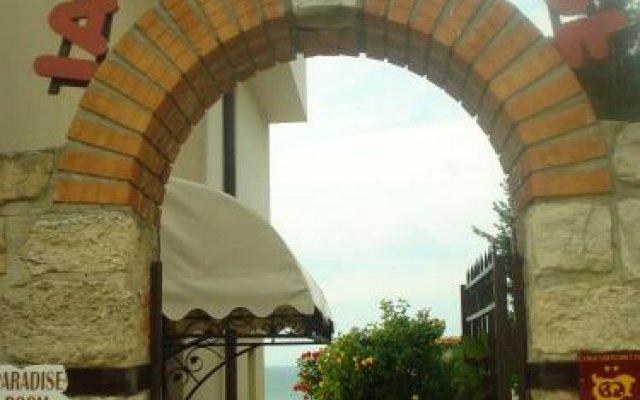Отель Guest House Ianis Paradise вид на фасад