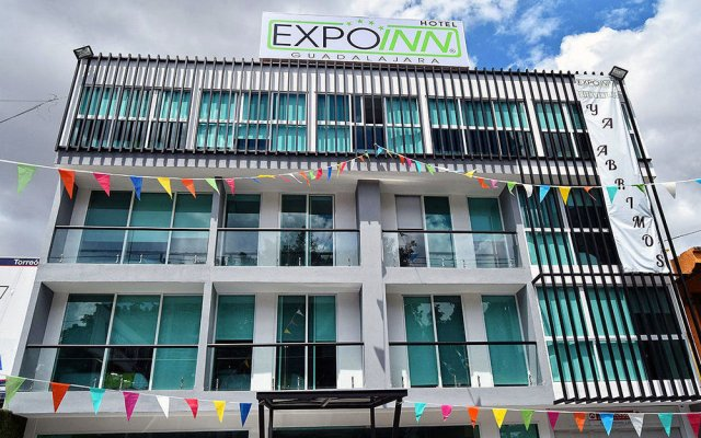Отель Expo Inn Мексика, Гвадалахара - отзывы, цены и фото номеров - забронировать отель Expo Inn онлайн вид на фасад