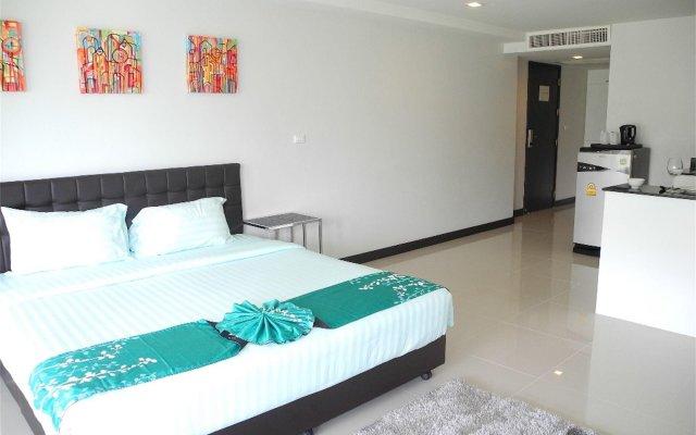 Апартаменты Kris Condo Nice Studio комната для гостей