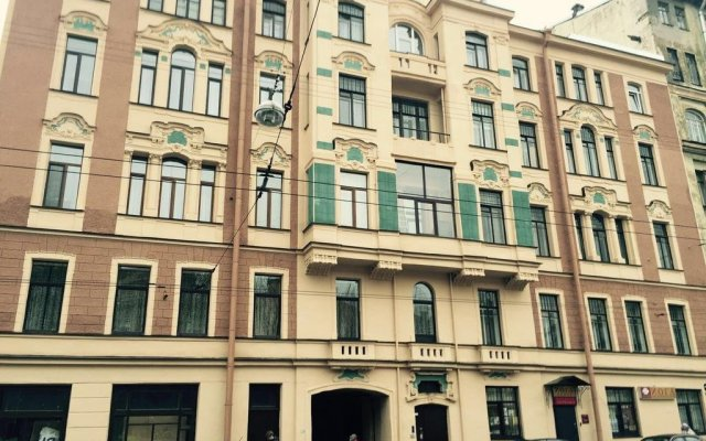 Anmar Hostel Санкт-Петербург вид на фасад