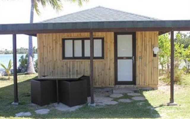 Отель Bora Bora Ecolodge вид на фасад
