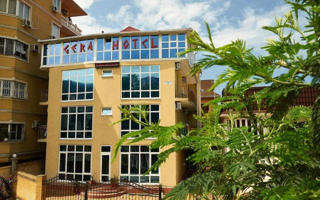 Gera Hotel вид на фасад