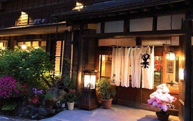 Отель Irori no Yado Ashina Айдзувакамацу вид на фасад