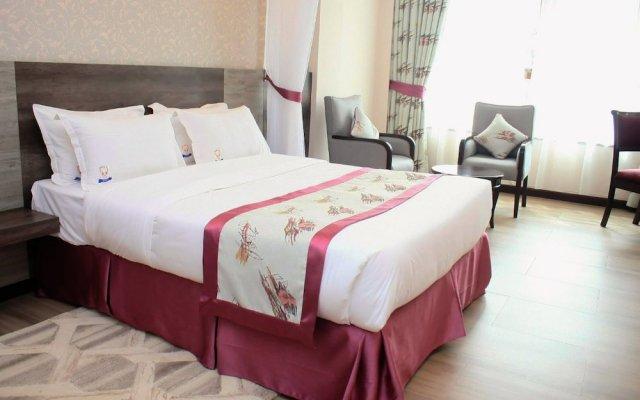 Merica Hotel комната для гостей