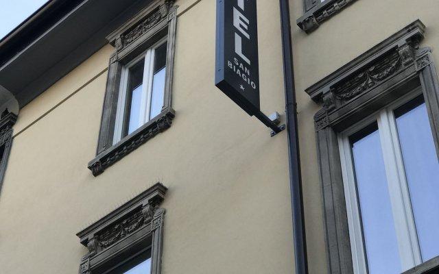 Hotel San Biagio вид на фасад