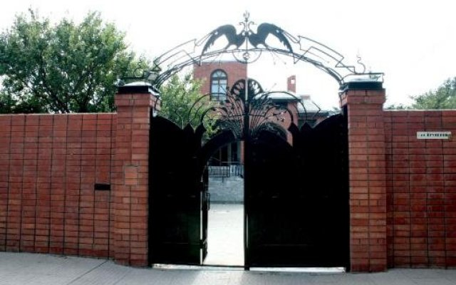 Гостиница Рыжий Кот вид на фасад