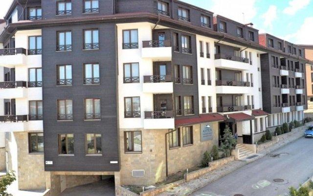 Отель Aspen Aparthotel Банско вид на фасад